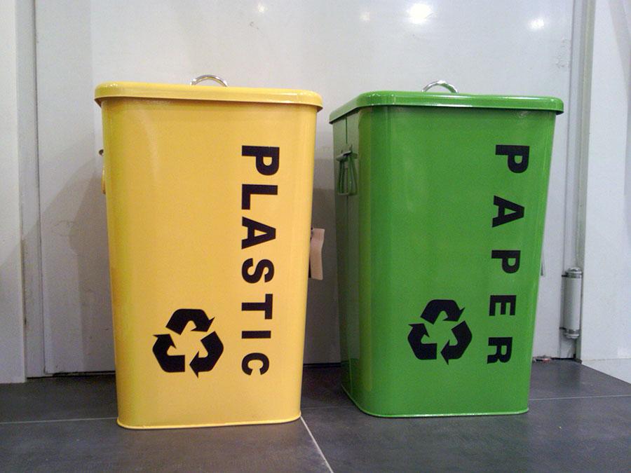 Los chilenos suspenden en reciclaje