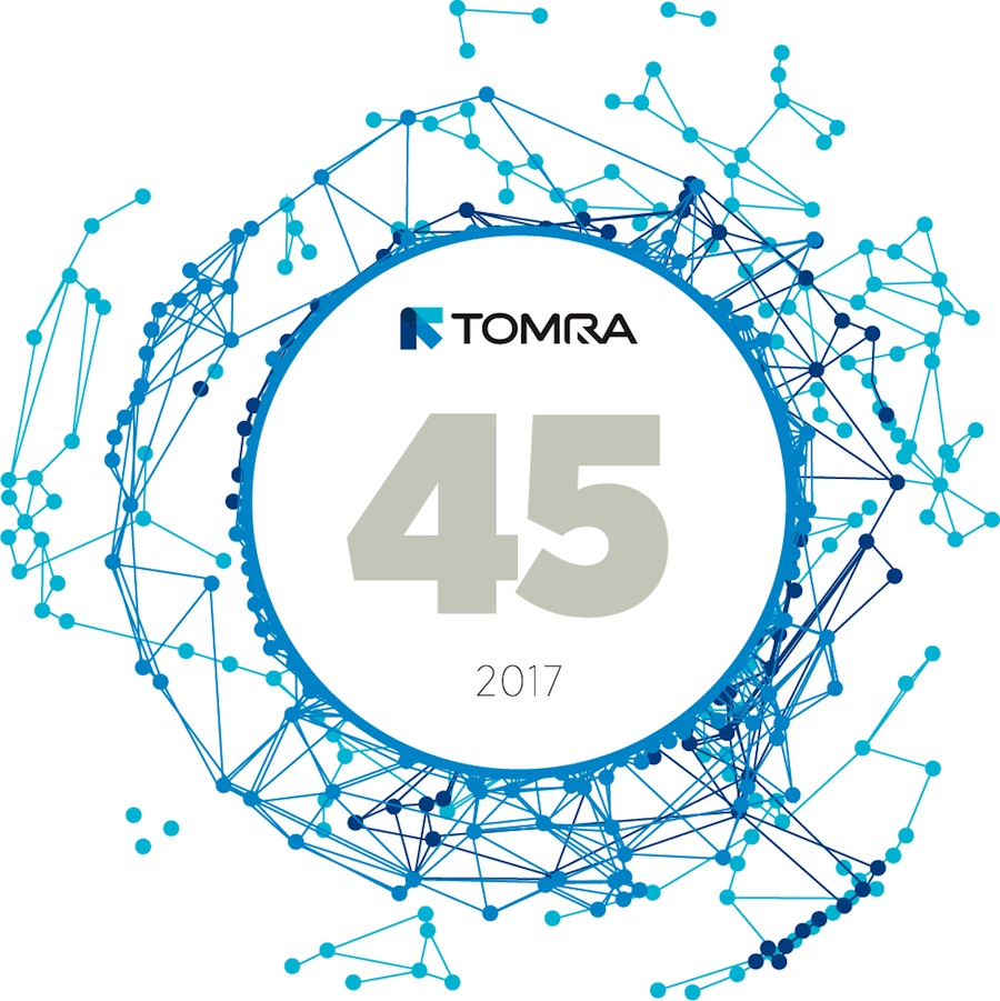 TOMRA celebra este año su 45 aniversario