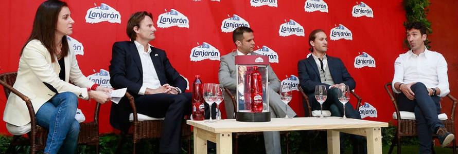 Lanjarón presentó la botella RED, 50% reciclada y 100% reciclable