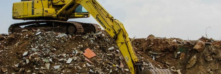 La Diputación de Badajoz quiere acabar con los vertederos ilegales de escombros en tres años