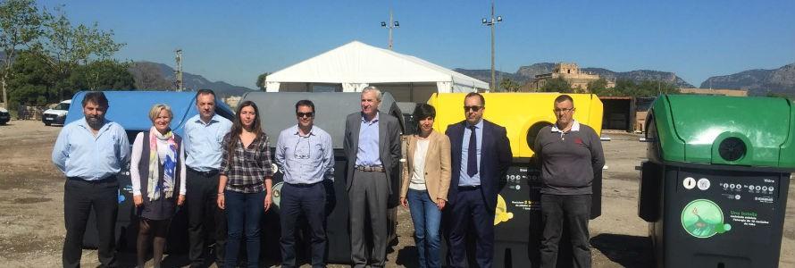 EMAYA presenta los nuevos contenedores de residuos de Palma