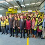 El lehendakari visita la planta de tratamiento de residuos de Koopera por su 25 aniversario