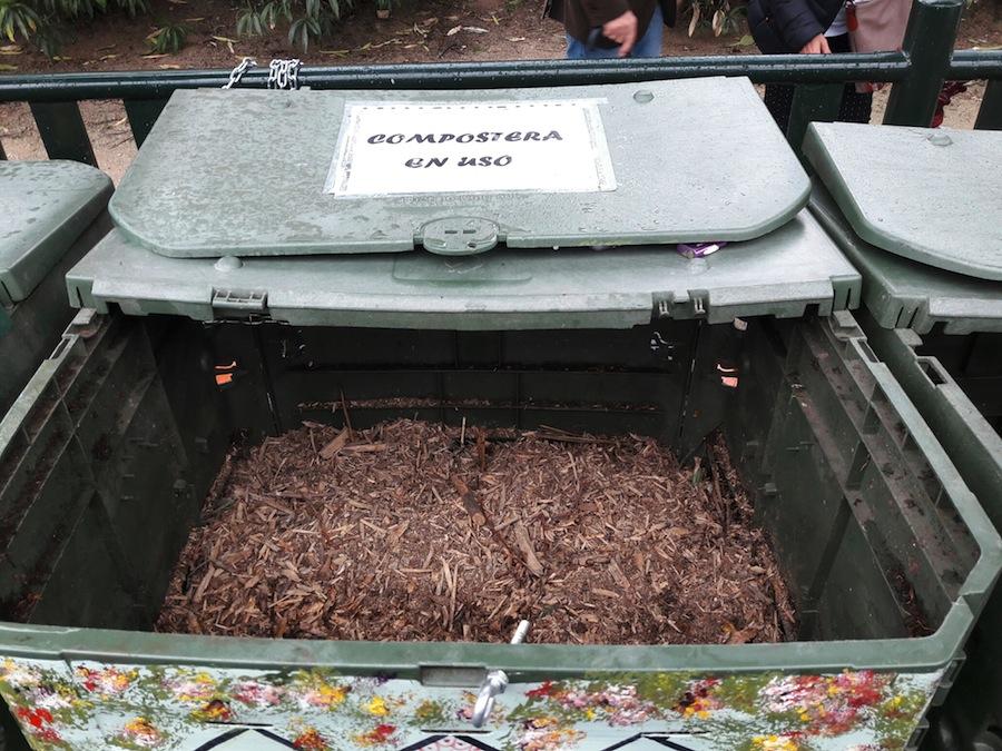 Primer área de compostaje comunitario de la ciudad de Madrid