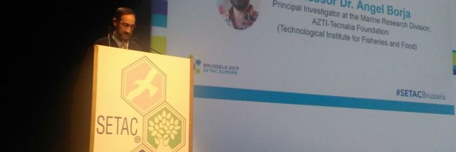 El investigador de AZTI Ángel Borja recibe el Premio Europeo de Educación Ambiental de la SETAC