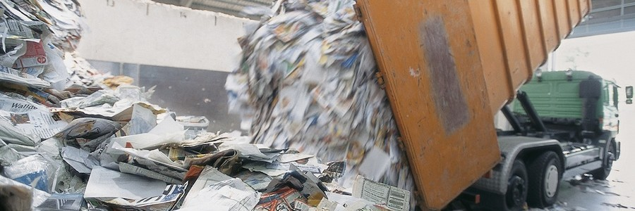 La industria papelera europea se marca un objetivo de reciclaje del 74% en 2020
