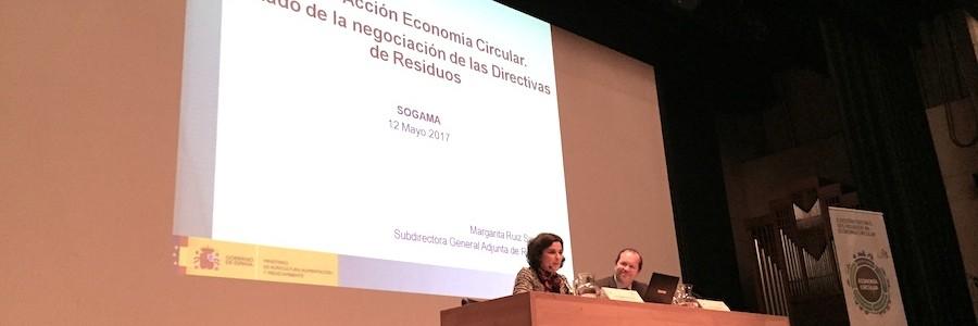 El Ministerio de Medio Ambiente analiza la estrategia europea en economía circular