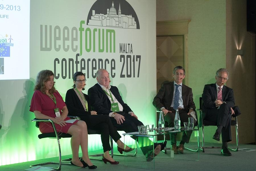 Celebración del WEEE Forum 2017