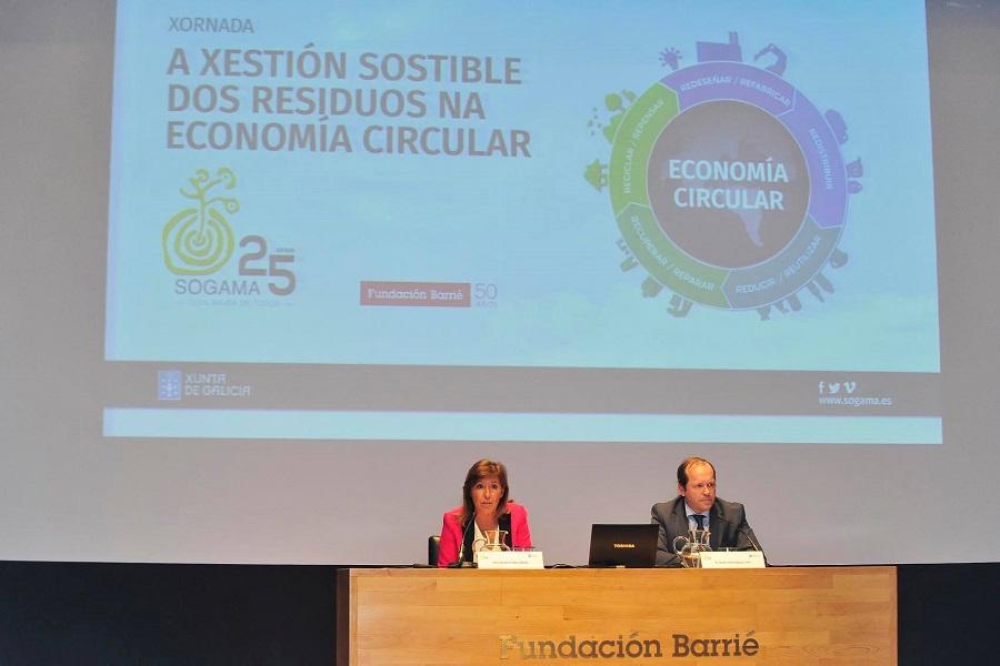 El presidente de Sogama defendió el papel de los residuos como recursos de futuro