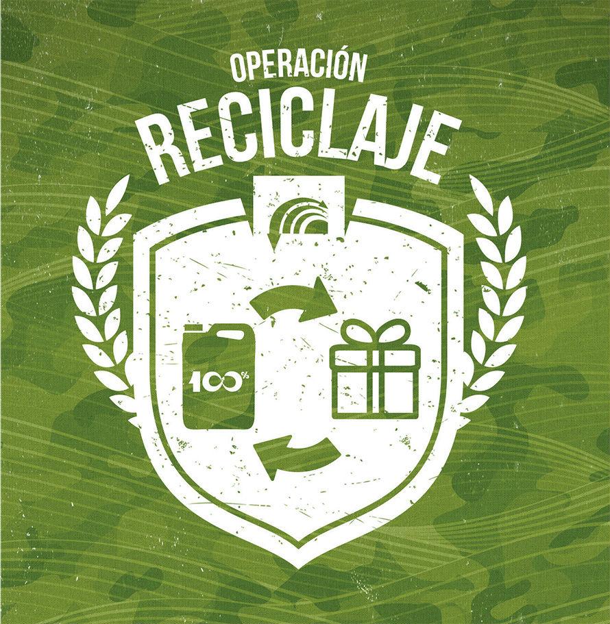Operación reciclaje
