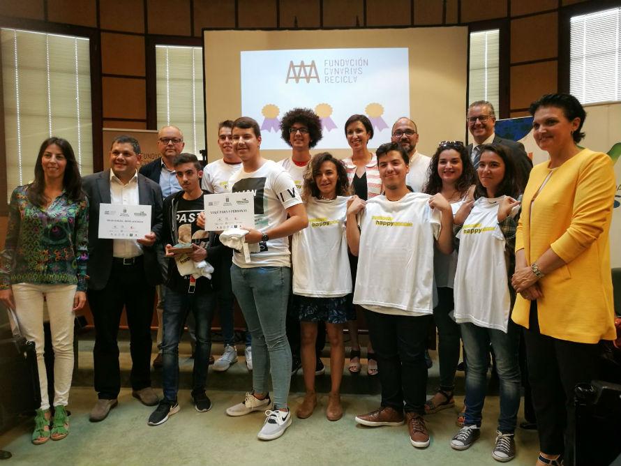 Premios Crea y Recicla de Gobierno Canarias