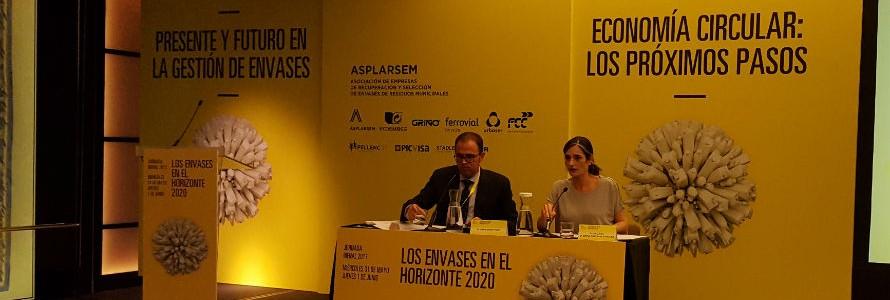 La secretaria de Estado de Medio Ambiente pide a las empresas que se impliquen para impulsar la economía circular en España