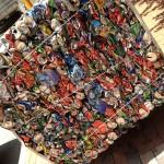 Cierran dos talleres irregulares de reciclaje de residuos en Hospitalet de Llobregat (Barcelona)
