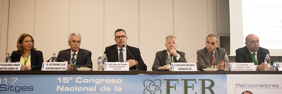Los líderes mundiales de la industria del reciclaje llaman a la unidad del sector en el 15º Congreso FER