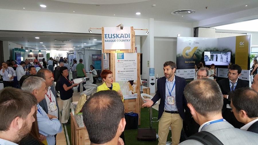 Aclima acompaña a las empresas vascas del sector ambiental en el Congreso Acodal