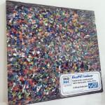 Primera baldosa hecha de materiales 100% reciclados