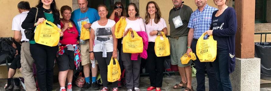 Xunta de Galicia y Ecoembes amplían la campaña de reciclaje de envases en el Camino de Santiago