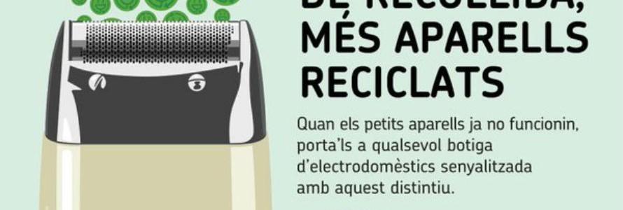Cataluña reactiva la campaña de recogida de aparatos electrónicos