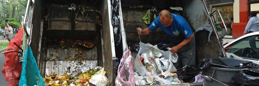 Los habitantes de Ciudad de México separarán sus residuos en cuatro fracciones