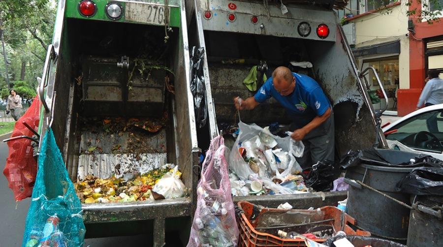 Ciudad de Mexico implanta la separación de residuos en cuatro fracciones