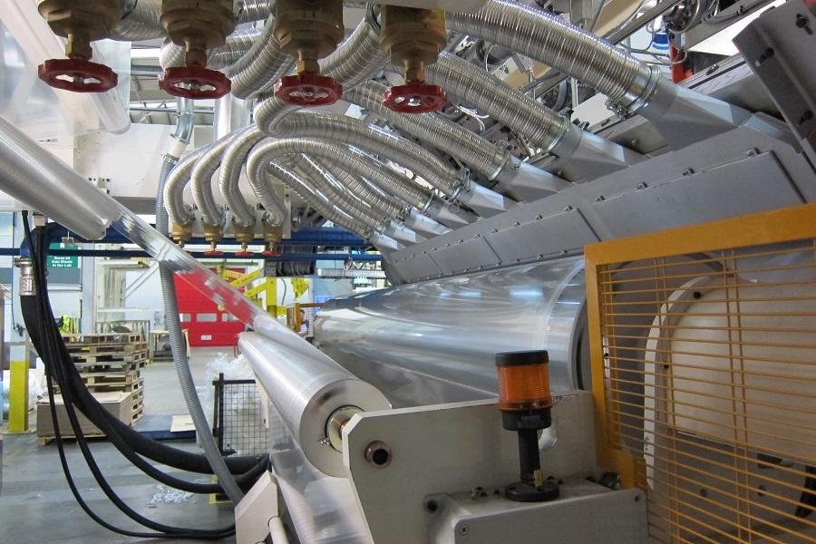 Tecnología comercial para el reciclaje de films impresos