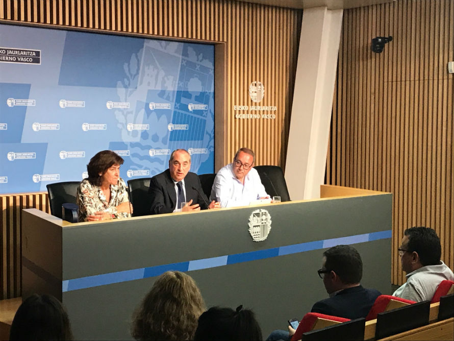 Iñaki Arriola, Consejero Medio Ambiente del Gobierno Vasco