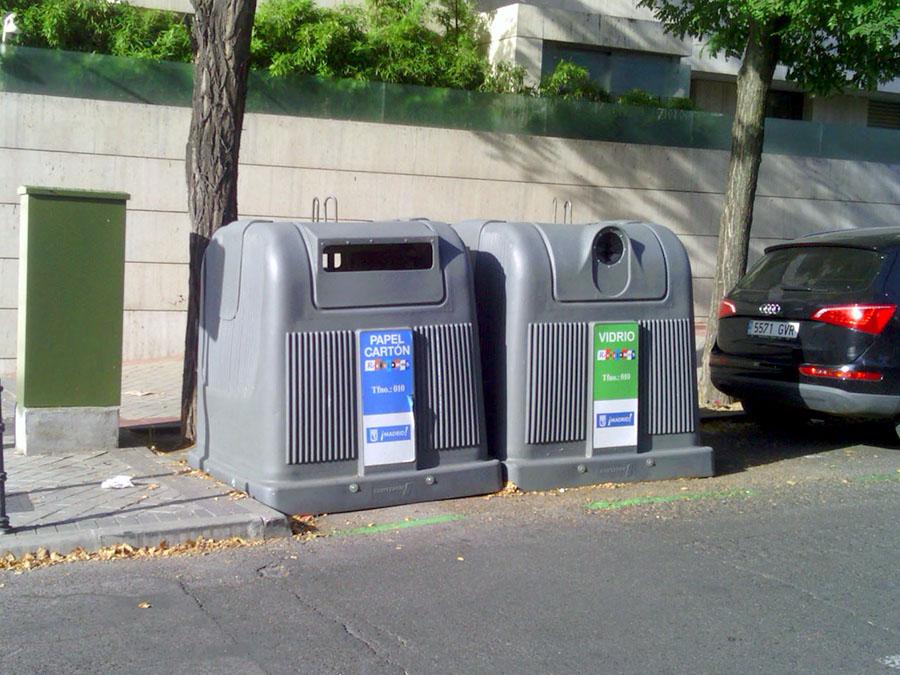 Analizan el imacto ambiental de los contenedores de residuos sólidos urbanos