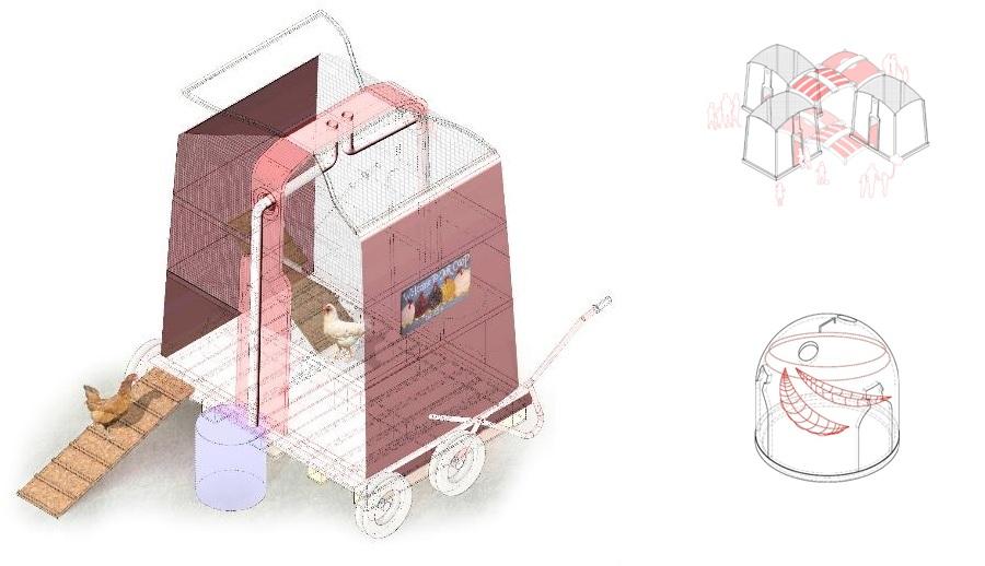 Alumnos de arquitecturas diseñan nuevos usos para los contenedores de reciclaje de vidrio