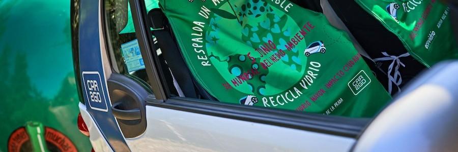 Ecovidrio y car2go evitan anualmente más de 500.000 toneladas de emisiones de CO2