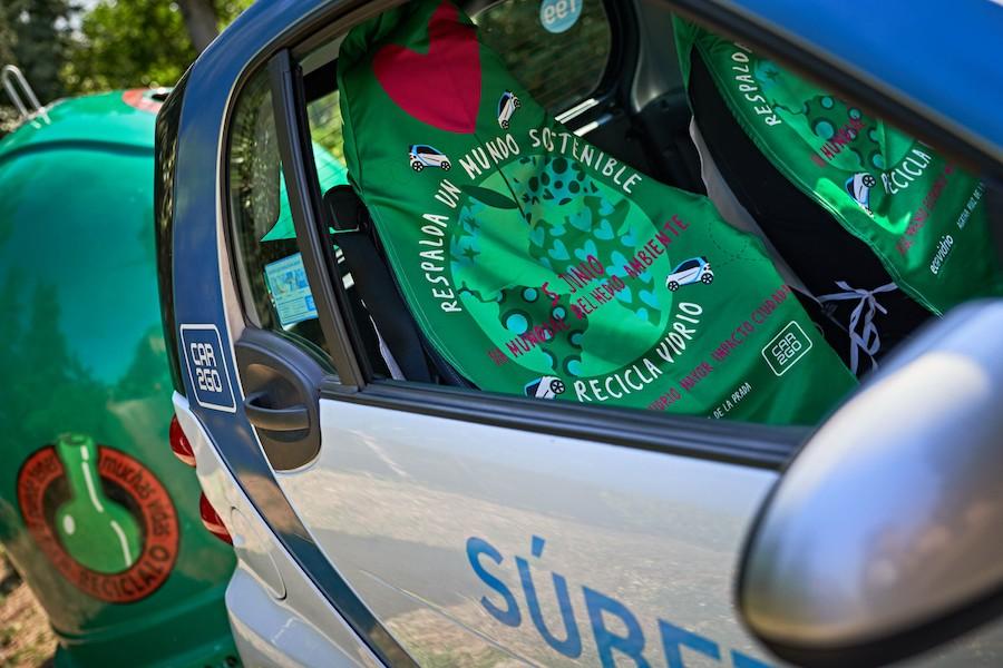Ecovidrio y car2go colaboran para fomentar el reciclaje