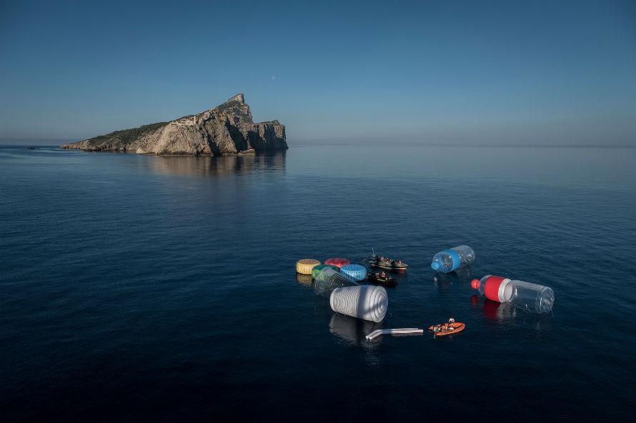 Greenpeace objetos plásticos en el Mediterráneo