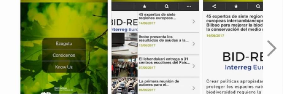 Ihobe lanza una aplicación móvil para acercar la información ambiental a la sociedad