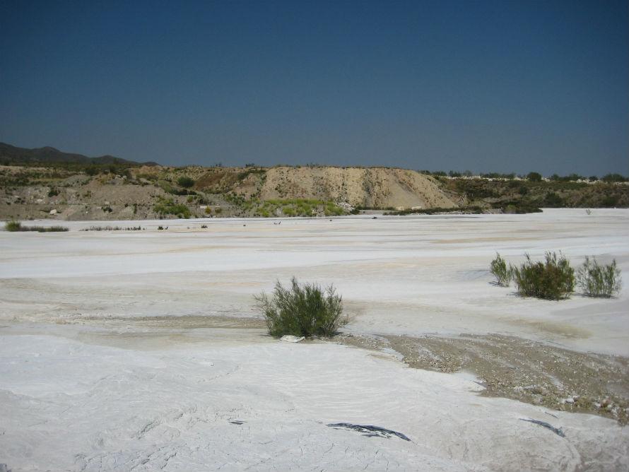 Recuperación suelos contaminados con lodos de mármol