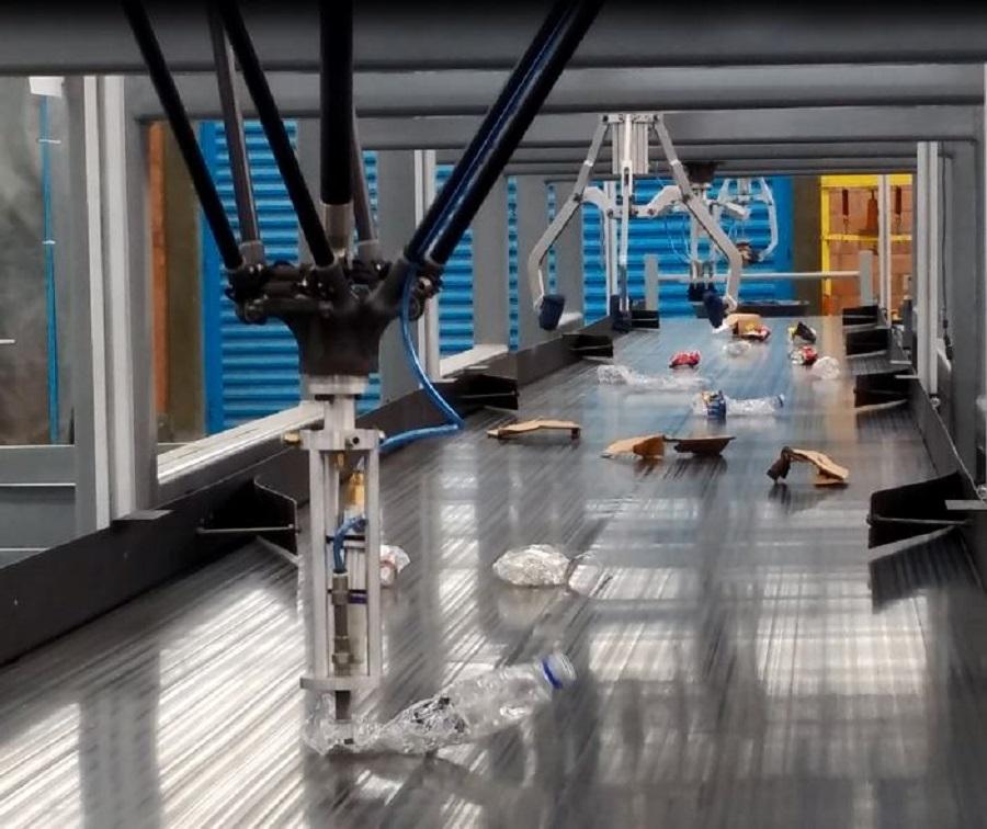 Investigadores del Ciateq han desarrollado un sistema de reciclaje equipado con robots