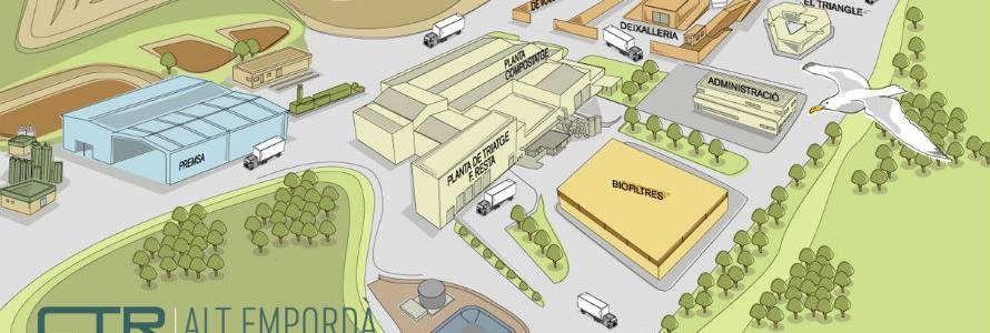 Inaugurado el centro de tratamiento de residuos del Alt Empordà en Pedret i Marzà
