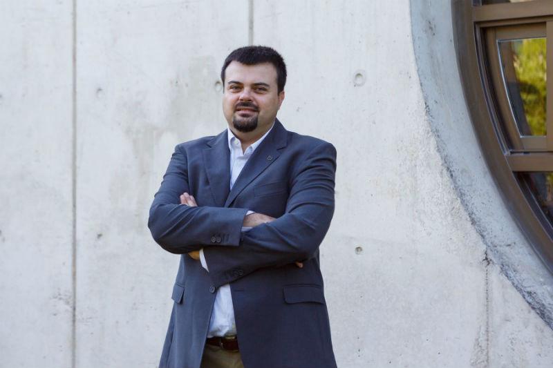 Francesco Storino, investigador de la UPNA.