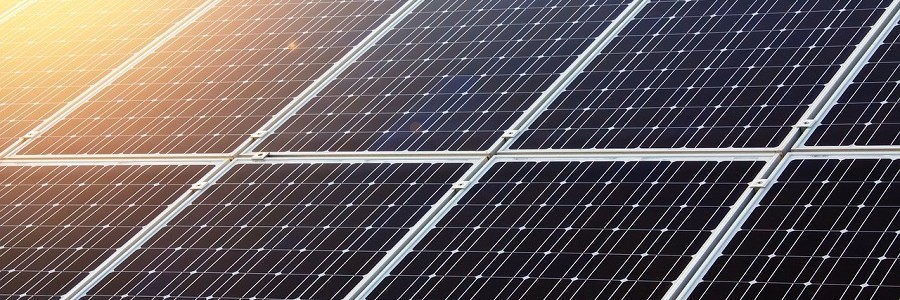 Paneles fotovoltaicos en las depuradoras de la Región de Murcia