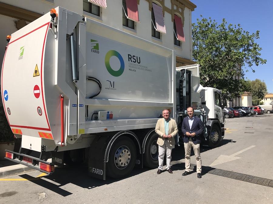 El Consorcio de RSU de Málaga adquiere un nuevo camión de recogida de residuos