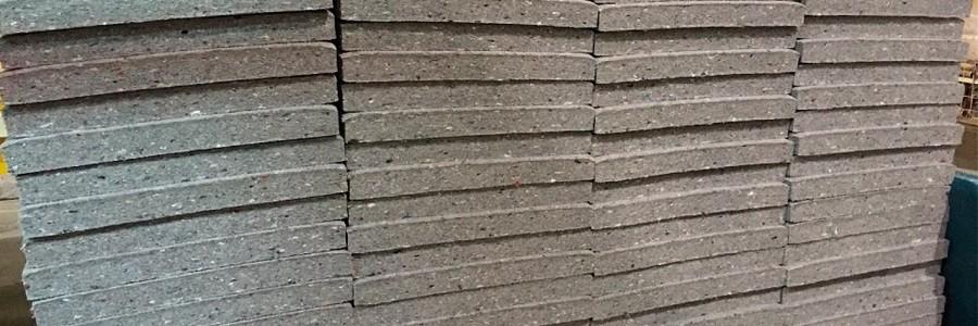 Koopera convierte residuos textiles en paneles aislantes para la construcción