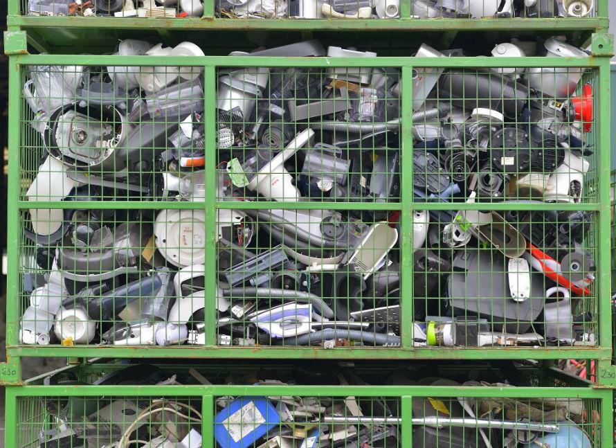 Residuos aparatos electricós electrónicos