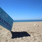 Un SDDR en la playa El Prat