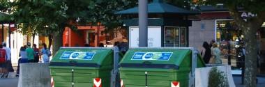 Los nuevos contenedores de residuos de Gijón permitirán implantar el pago por generación