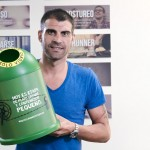 Trofeos de vidrio reciclado en la Vuelta ciclista a España