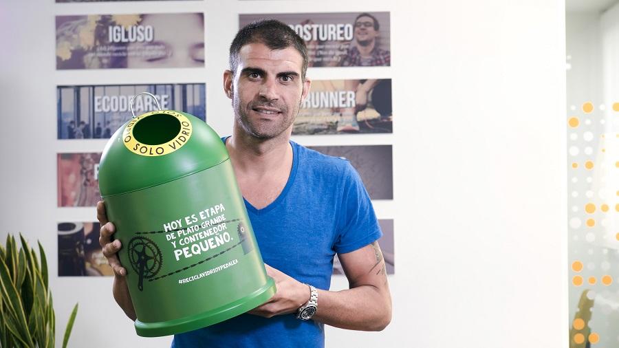 Ecovidrio volverá a colaborar con la Vuelta Ciclista a España
