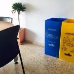 El reciclaje llega a las dependencias municipales de Palma