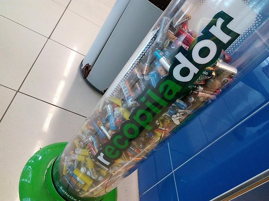 El 9 de septiembre se celebra el Día Europeo del Reciclaje de Pilas