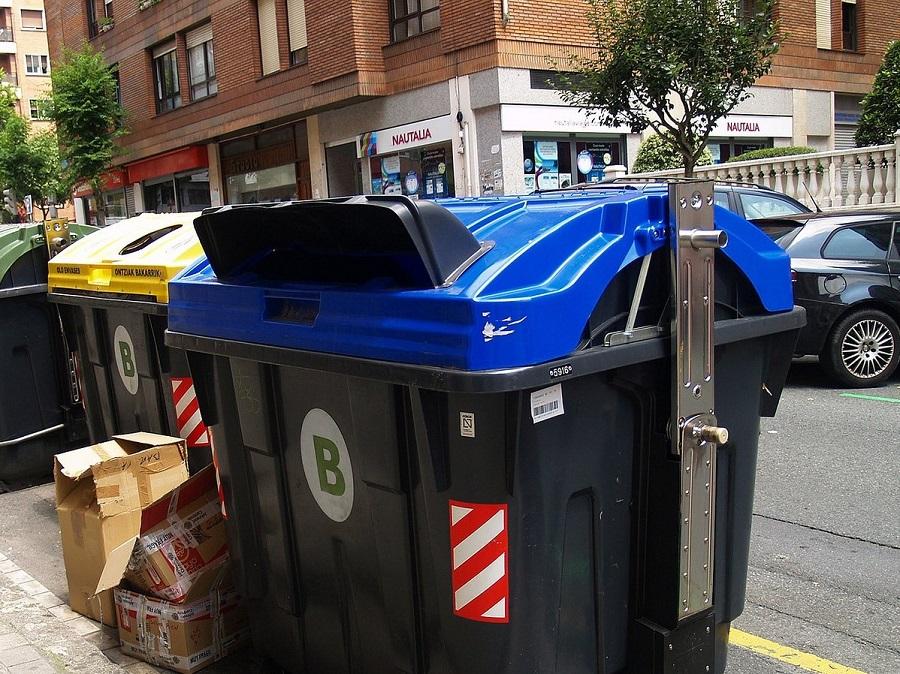 Los impropios representan un 10% de los residuos del contenedor azul