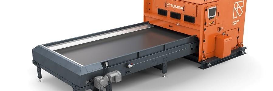TOMRA Sorting Recycling lanza AUTOSORT LASER para aumentar la eficiencia en la clasificación de residuos