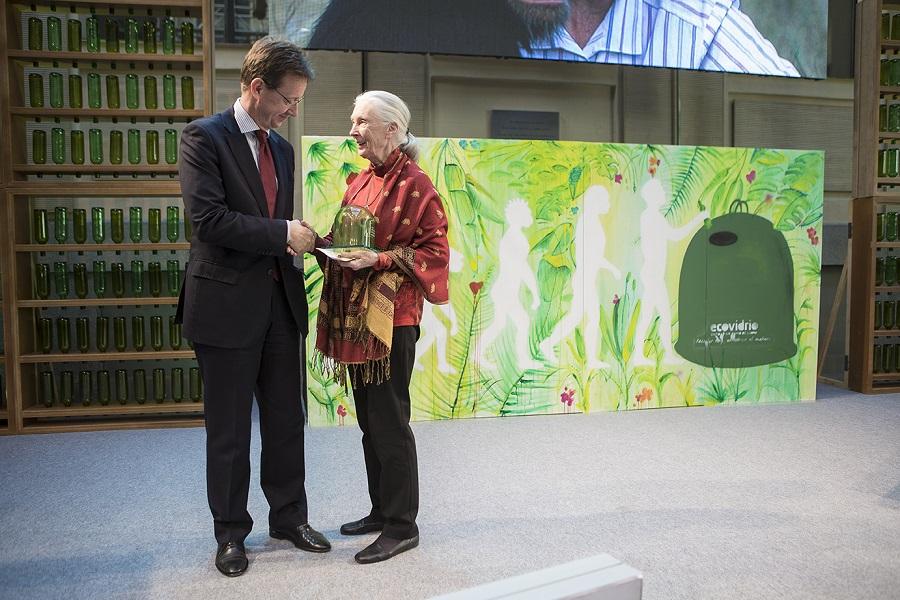 Jane Goodall fue elegida Personalidad Ambiental del Año en los premios de 2017