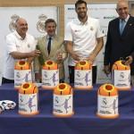 Ecovidrio y la Fundación Real Madrid colaboran en la promoción del reciclaje de vidrio