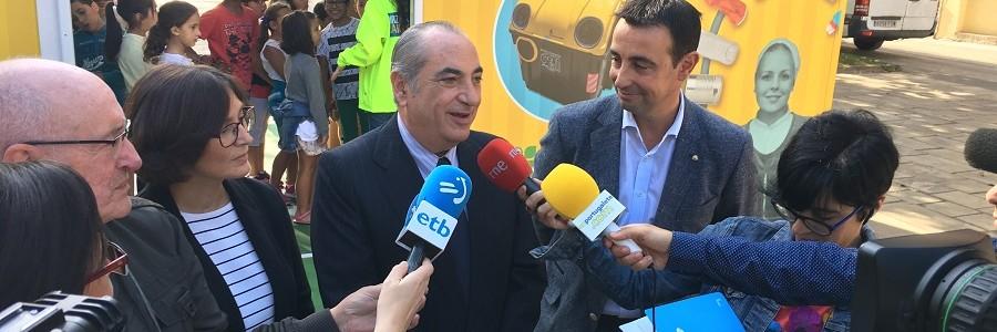 Una campaña sobre reciclaje y economía circular recorrerá varios municipios vascos